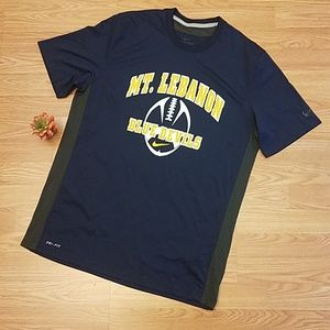 Nike Dri Fit Vented Mt. Lebanon Football Jersey